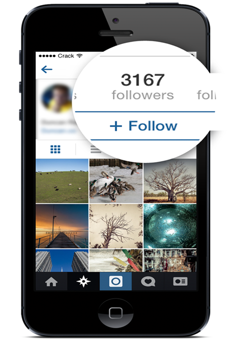 buy instagram follower count screenshot iphone