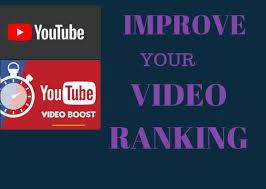 Improve youtube video ranking