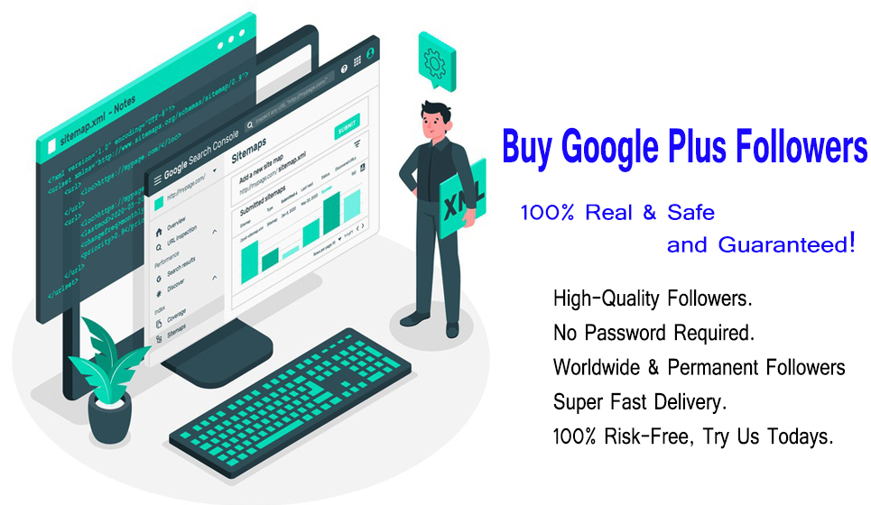 Buy Real Google Plus Followers