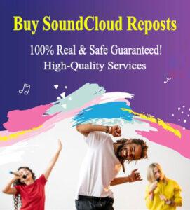 Buy Real SoundCloud Reposts
